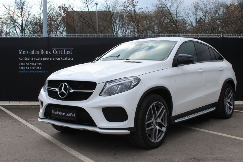 Mercedes  GLE Coupe GLE 350D COUPE 4M